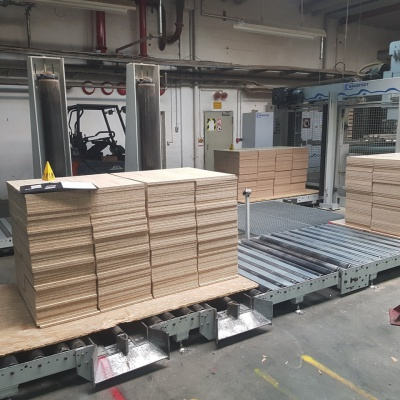 Stapeltransport Powerlinie 2